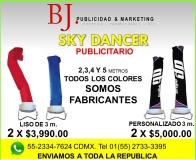 3 BJ. Sky dancer. Tubular