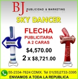 4 BJ. Sky dancer. Flecha